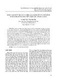 Khía cạnh kỹ thuật và hiệu quả kinh tế của mô hình nuôi tôm-rừng ở huyện Năm Căn, tỉnh Cà Mau