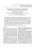 Đặc điểm phân bố trầm tích và triển vọng sa khoáng vùng biển ven bờ Bình Định