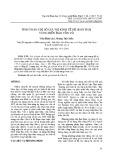 Tính toán chỉ số giá trị kinh tế hệ sinh thái vùng biển đảo Cồn Cỏ