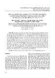 Kết quả bước đầu nghiên cứu tốc độ lắng đọng, nguồn trầm tích đáy vịnh Hạ Long: Dấu hiệu từ khoáng vật sét, đồng vị 210Pb và 137Cs