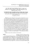 Dẫn liệu mới về môi trường nước và sinh vật trong các hang ngầm và hồ nước mặn khu vực vịnh Hạ Long, Cát Bà