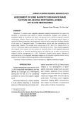 Assessment of some magnetic resonance image factors influencing peritumoral edema of falcine meningiomas