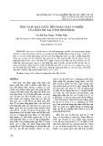 Tính toán khả năng tiếp nhận chất ô nhiễm của đầm Thị Nại (tỉnh Bình Định)