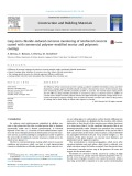 Long-term chloride-induced corrosion monitoring of reinforced concrete coated with commercial polymer-modified mortar and polymeric coatings