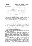 Nghị định của Chính phủ Số 33/2003/NĐ-CP