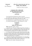 Nghị định Số 113/2004/NĐ-CP của Chính phủ quy định xử phạt hành chính về hành vi vi phạm pháp luật lao động