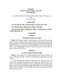 Nghị định Số 06/CP ngày 20 tháng 1 năm 1995 Chính phủ - Quy định chi tiết một số điều của Bộ Luật lao động về an toàn lao động, vệ sinh lao động