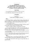 Nghị định của Chính phủ số 41-CP ngày 6-7-1995 quy định chi tiết và hướng dẫn thi hành một số điều của Bộ Luật lao động và kỷ luật  lao động và trách nghiệm vật chất