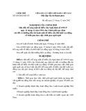 Nghị định Số 109/2002/NĐ-CP của Chính phủ Sửa đổi, bổ sung một số điều của Nghị định số 195/CP ngày 31 tháng 12 năm 1994 của Chính phủ quy định chi tiết và hướng dẫn thi hành một số điều của Bộ luật Lao động về thời gian làm việc, thời gian nghỉ ngơi