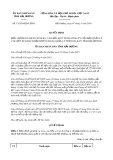 Quyết định số 13/2019/QĐ-UBND tỉnh Hải Dương