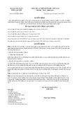 Quyết định số 11/2019/QĐ-UBND tỉnh Lạng Sơn