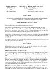 Quyết định số 1654/2019/QĐ-UBND tỉnh ĐắkLắk
