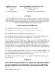 Quyết định số 09/2019/QĐ-UBND tỉnh Bắc Giang