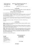 Quyết định số 1626/2019/QĐ-UBND tỉnh QuảngNam