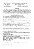 Quyết định số 21/2019/QĐ-UBND tỉnh Bến Tre