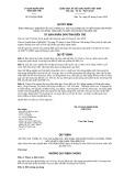 Quyết định số 874/2019/QĐ-UBND tỉnh Bến Tre