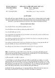 Quyết định số 11/2019/QĐ-UBND tỉnh Bình Dương