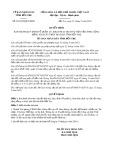 Quyết định số 22/2019/QĐ-UBND tỉnh Bến Tre