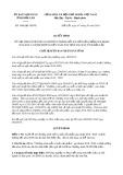 Quyết định số 1040/2019/QĐ-UBND tỉnh ĐắkLắk