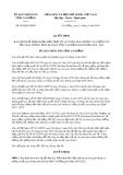 Quyết định số 585/2019/QĐ-UBND tỉnh Cao Bằng