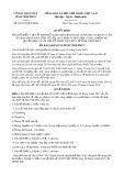 Quyết định số 20/2019/QĐ-UBND tỉnh Vĩnh Phúc