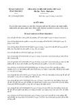 Quyết định số 22/2019/QĐ-UBND tỉnh Vĩnh Phúc