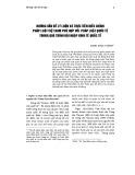 Những vấn đề lý luận và thực tiễn điều chỉnh pháp luật Việt Nam phù hợp với pháp luật quốc tế trong quá trình hội nhập kinh tế quốc tế
