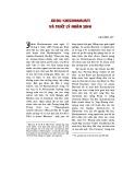 Jiddu Krishnamurti và triết lý nhân sinh