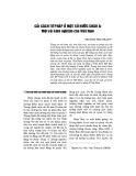 Cải cách tư pháp ở một số nước châu Á: Một vài kinh nghiệm cho Việt Nam