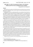 Biểu hiện của dấu ấn sinh học p16 trong tổn thương tế bào gai cổ tử cung và mối liên quan với HPV