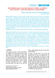 Thành phần loài và đa dạng quần xã thực vật phù du đảo Nam Yết - quần đảo Trường Sa, Khánh Hòa