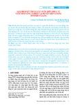 Giải pháp kỹ thuật lấy nước biển phục vụ nuôi tôm công nghiệp tại huyện Kiên Lương tỉnh Kiên Giang