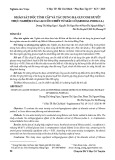 Khảo sát độc tính cấp và tác dụng hạ glucose huyết thực nghiệm của cao cồn chiết từ Mắc cỡ (Mimosa pudica L.)