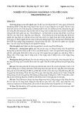 Nghiên cứu lâm sàng giai đoạn 1 của viên nang Thanh Đường An