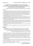 Nghiên cứu thực nghiệm tác dụng tăng cường miễn dịch của cao chiết và viên nang Đảng sâm Việt Nam (Codonopsis javanica (Blume) Hook. f.)