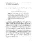 Dạy học tích hợp trong giáo dục nghề nghiệp theo lí thuyết học tập trải nghiệm của David A. Kolb