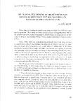 Mô tả từ vận động di chuyển tiếng Anh theo quan điểm ngôn ngữ học tri nhận của Leonard Talmy và Berth Levin
