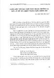 Chất liệu văn học dân gian trong trường ca viết về đề tài chiến tranh thời chống Mỹ