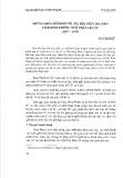 Những biến đổi kinh tế - xã hội trên địa bàn tỉnh Bình Phước thời Pháp thuộc (1897-1939)