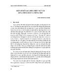 Một số kết quả đối chiếu ngữ âm giữa tiếng Hàn và tiếng Việt