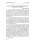 Nghệ thuật tổ chức các Motif hình tượng trong tiểu thuyết Mạc Ngôn