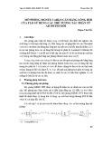 Mô phỏng Monte Carlo cân bằng lỏng hơi của Flo sử dụng các thế tương tác phân tử AB Initio mới