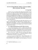 Về từ ngữ địa phương trong sách giáo khoa tiếng Việt bậc tiểu học