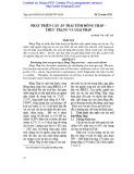 Phát triển cây ăn trái tỉnh Đồng Tháp – Thực trạng và giải pháp