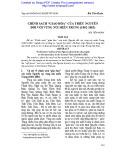 """Chính sách """"giáo hóa"""" của triều Nguyễn đối với vùng núi miền Trung (1802-1883)"""