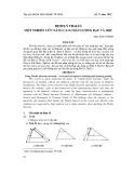 Định lý Thalès một nghiên cứu nâng cao chất lượng dạy và học