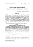 A new probabilistic algorithm for solving nonlinear equations systems