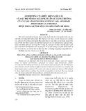 Ảnh hưởng của điều kiện nuôi cấy và mật độ tế bào xuất phát lên sự tăng trưởng của vi tảo Chaetoceros subtilis var. Abnormis Proschkina-Lavrenko được phân lập ở huyện Cần Giờ, TP. Hồ Chí Minh