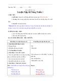 Giáo án Luyện từ và câu lớp 3