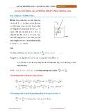 Bài tập Mô phỏng lần 4 (Phương trình vi phân thường ODE)